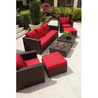 Grand Resort Patio Furniture Grand Resort Osborn 7 Sofa Seating Set Featuring Sunbrella 174 Fabric Outdoor Living