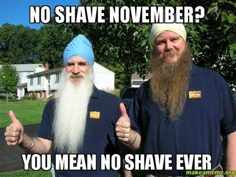 No Shave November Memes - makeameme org 502 bad gateway