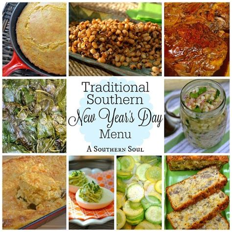 new year traditional food and meaning traditional southern new year s day menu