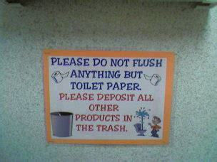 do not flush signs for bathroom anxiety live learn