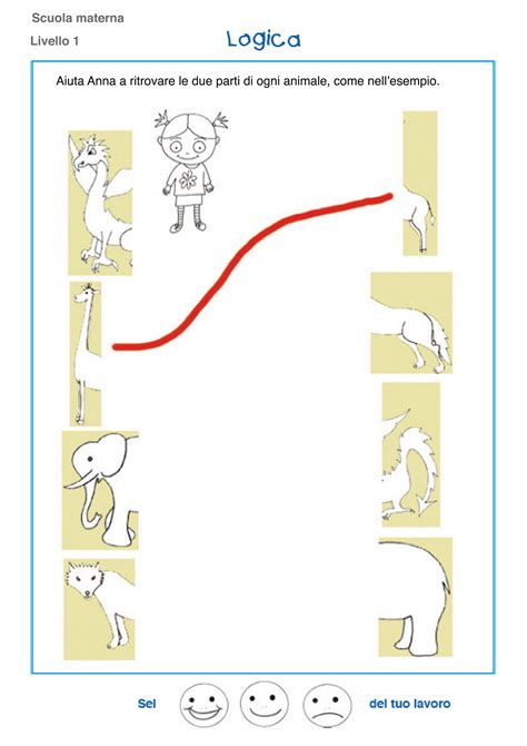 a scuola a casa laboratorio 1 esercizi e schede di logica scuola dell infanzia