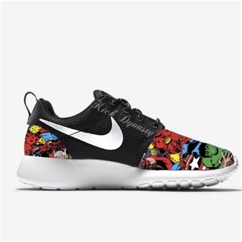 marvel shoes for 38 nike shoes nike roshe run sneakers marvel