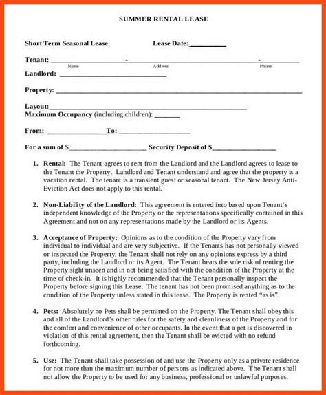 asset lease agreement template property lease agreement template best resume collection