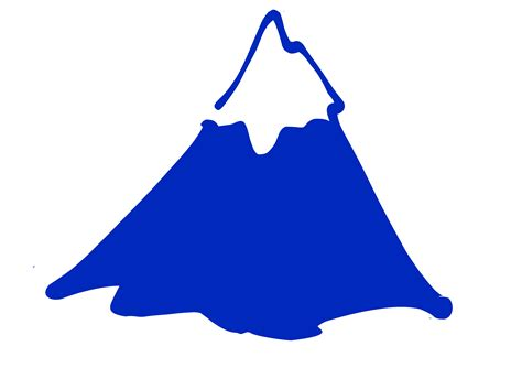 mountain clipart mountain silhouette clip cliparts