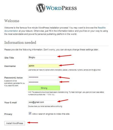 tutorial membuat website dengan wordpress xp tutorial membuat website dengan wordpress warrior princess