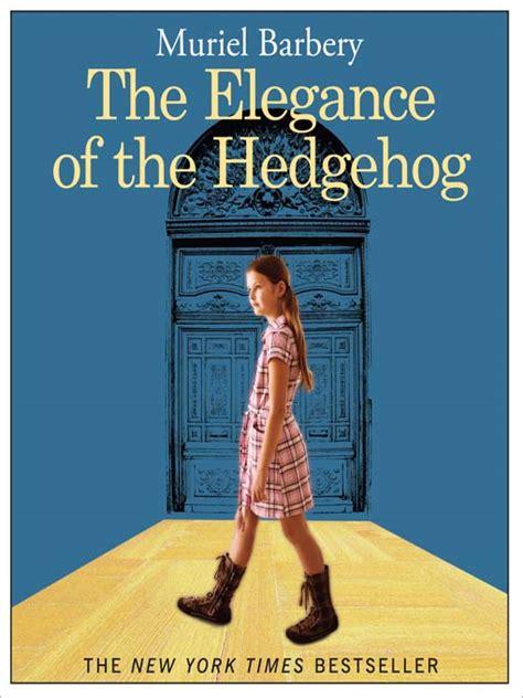Monday Night Book Club The Elegance Of The Hedgehog