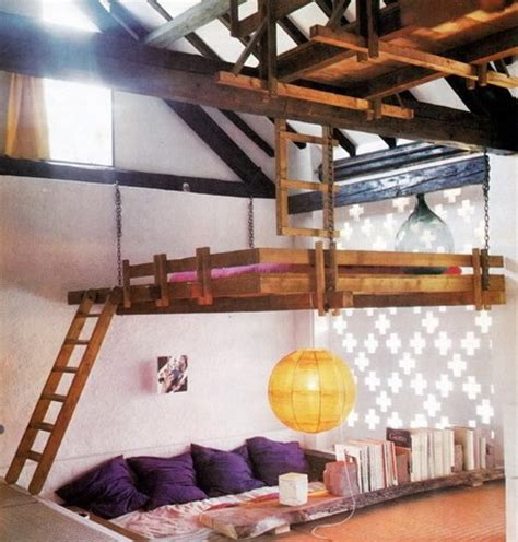 kids bedroom loft ideas 25 hanging bed designs floating in creative bedrooms