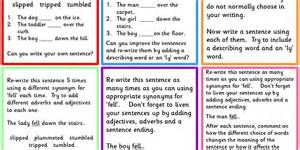 early work activity verb synonyms classroom secrets
