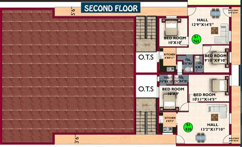 630 Sq Ft 2 Bhk 2t Apartment For Sale In Gag Constructions 765 Sq Ft 2 Bhk