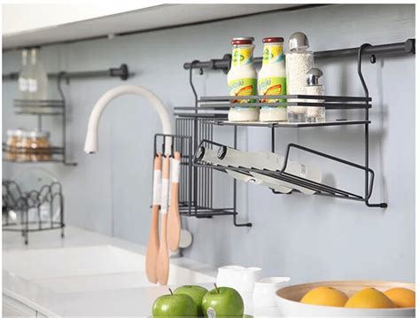 Kitchen Hanging Shelf by Stainless Steel Kitchen Hang Hang Lever The Cover Frame