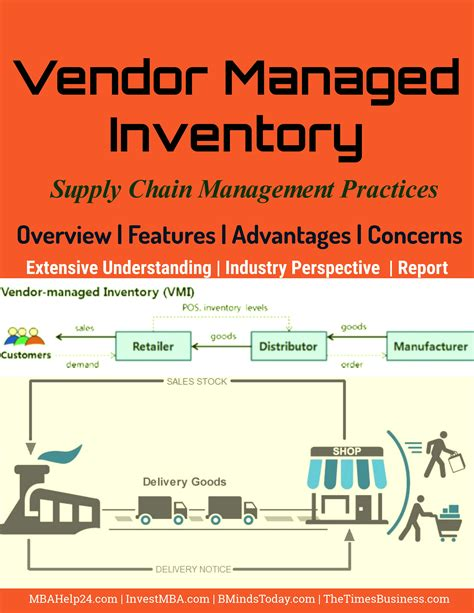supply chain management dissertation vendor managed inventory overview features advantages