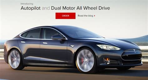 Self Driving Car Tesla Tesla Self Driving Cars To Be Enabled Through An
