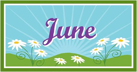 june clipart clipground