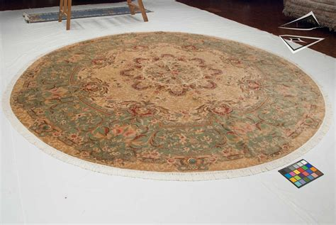 large circular rugs savonnerie design rug 12 x 12