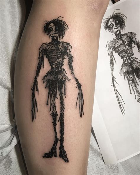 tim burton tattoo designs tim burton by pat crump inkspiration