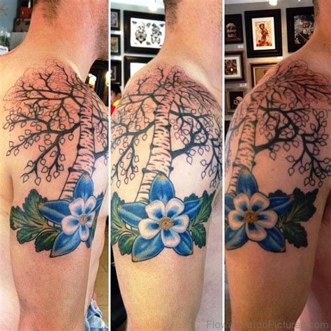 columbine tattoo designs 32 best columbine flower tattoos