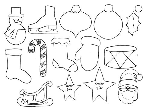 The Tree Printable Ornaments