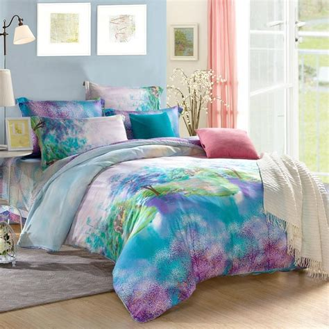 the incredible teal and purple comforter sets popular