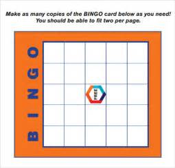 Bingo Card Template Free by Blank Bingo Card Template Cards Templates Blank Bingo