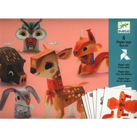 Folding Paper Toys - folded paper animals a mighty