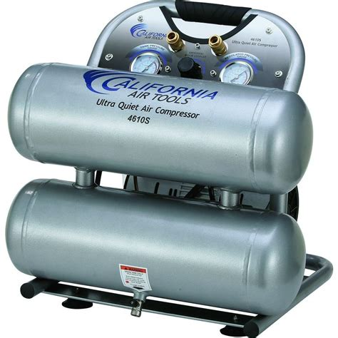 california air tools 4610s ultra and free 1 0 hp 4 6 gal steel tank electric