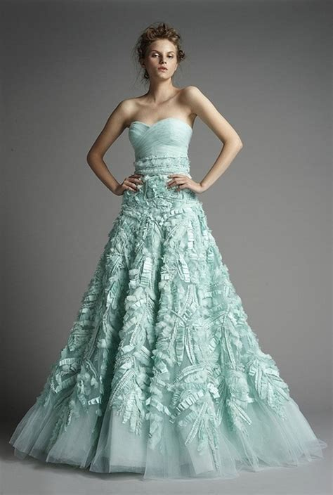 nontraditional bridesmaid chagne and blue non traditional wedding dresses with color styles of