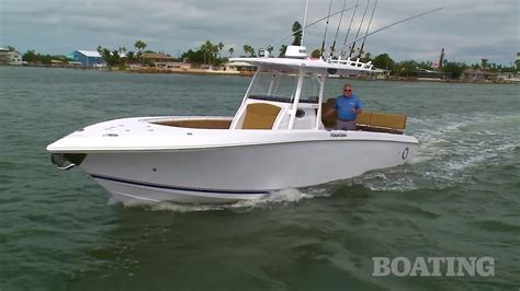 fountain boats youtube boat buyers guide fountain 34cc youtube