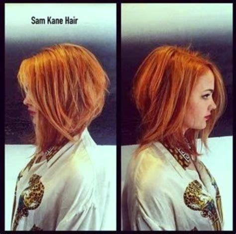 long angled bob curly hair the angled bob hairstyle grace beauty