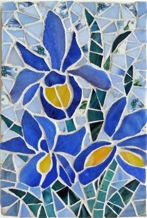 mosaic iris best 25 mosaic flowers ideas on pinterest mosaic