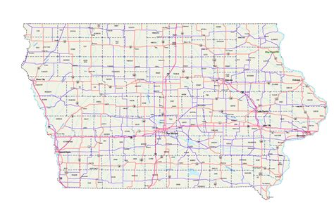printable map iowa pin iowa road map about pat cumbria on pinterest
