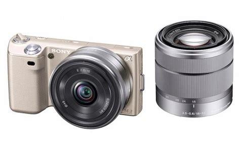 Kamera Sony Nex 5d Sony Launches Limted Edition Gold Nex 5d