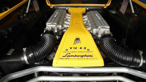 Inside the V12 6.0L Engine Bay of my Lamborghini   YouTube