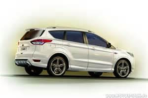 2014 ford kuga titanium x sport rear view kuga ii 2013