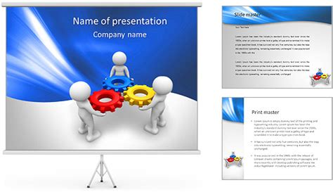 powerpoint template tutorial plantillas powerpoint 3d imagui