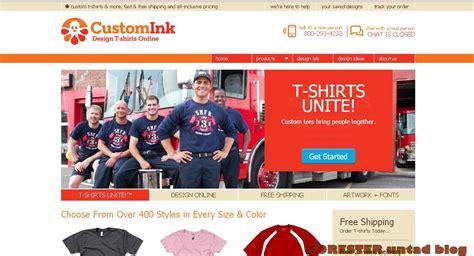 desain kaos online customink desain kaos dengan situs online forester untad blog