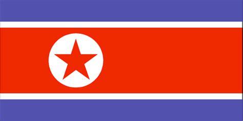 North korea flag and description