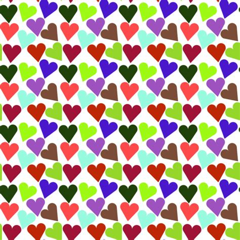icon pattern svg clipart heart pattern