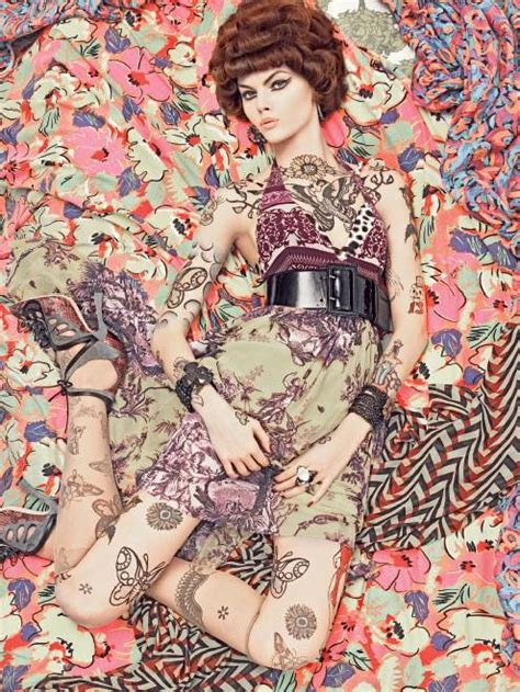 body pattern photography vogue patterns by steven meisel trendland