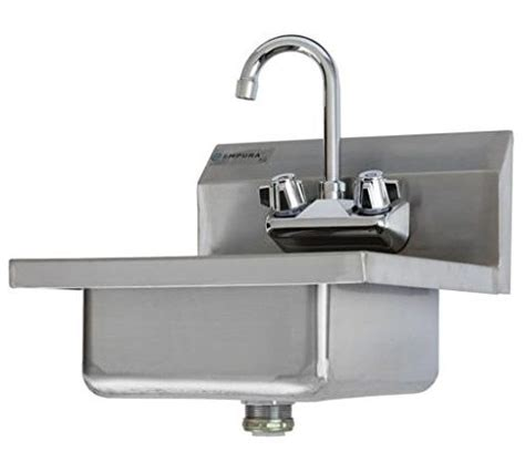 stainless steel wall mount commercial sink commercial stainless steel wall mount washing sink w