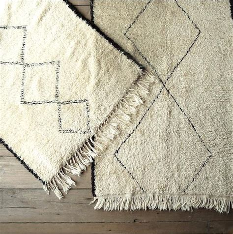 moroccan rugs cheap high low beni ouarain moroccan rugs remodelista