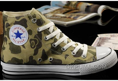 army converse sneakers converse summer nicolas cage soul camouflage army olive