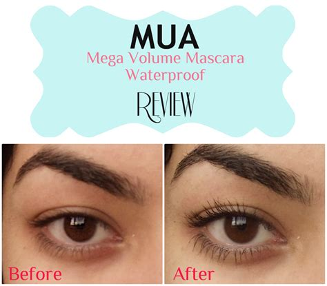 Volume Mascaras Reviews by Peachypout Review Mua Mega Volume Mascara Waterproof