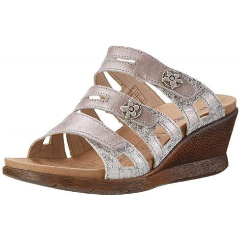 platinum sandals nevis 04 platinum combi mule sandal