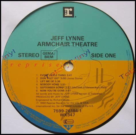 jeff lynne armchair theatre totally vinyl records lynne jeff armchair theatre lp