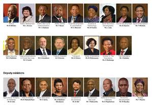 South Cabinet Ministers And Their Portfolios by Sa Cabinet In One Song Audio