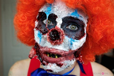 zombie clown tutorial 12 really awesome zombie makeup tutorials you re so pretty