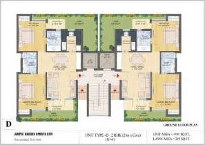 plan floor floor plans jaypee greens kassia sports city