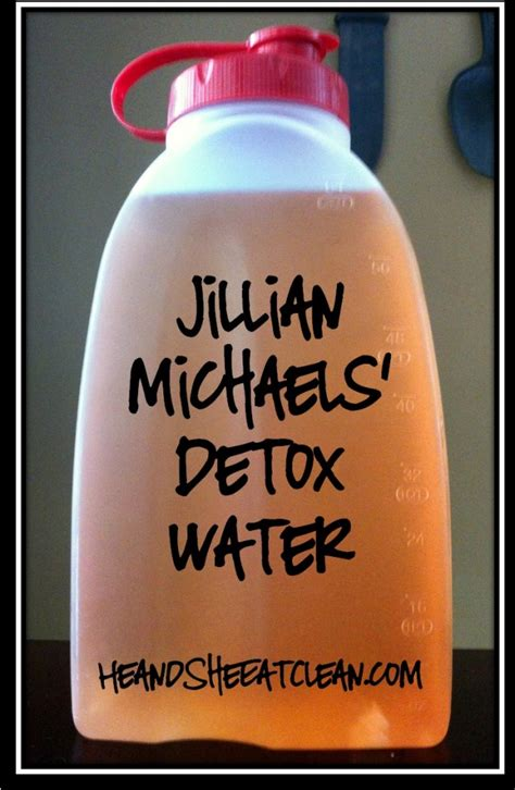 Jillian Detox Drink by Jillian Detox Waterwhat2cook