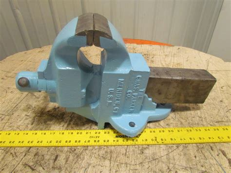 parker bench vise chas parker no 955 5 quot jaw machinist stationary bench vise