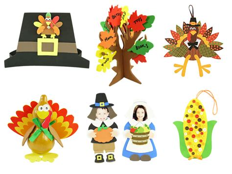 thanksgiving craft kits for give thanks thanksgiving craft kit carefree crafts
